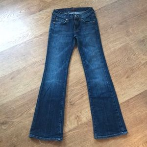 7 for all mankind girls denim size 7